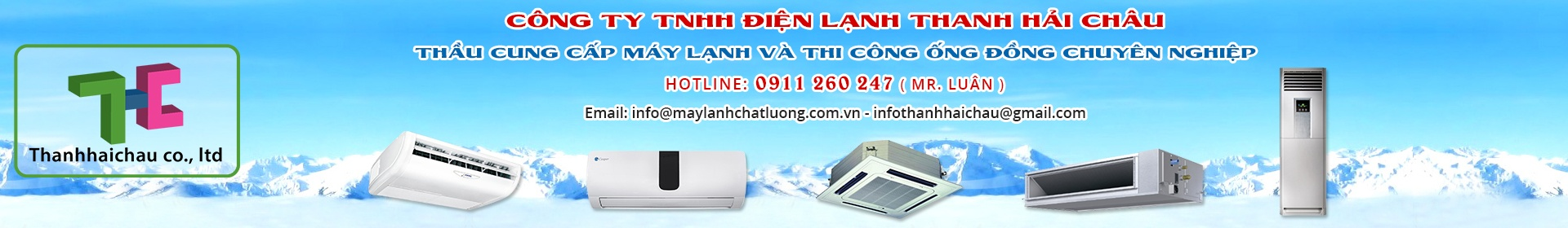 CÔNG TY TNHH ĐIỆN LẠNH  THANH HẢI CHÂU